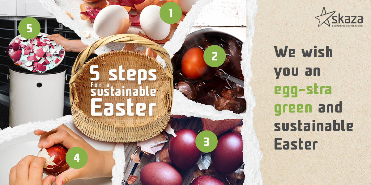 5 steps for a sustainable Easter