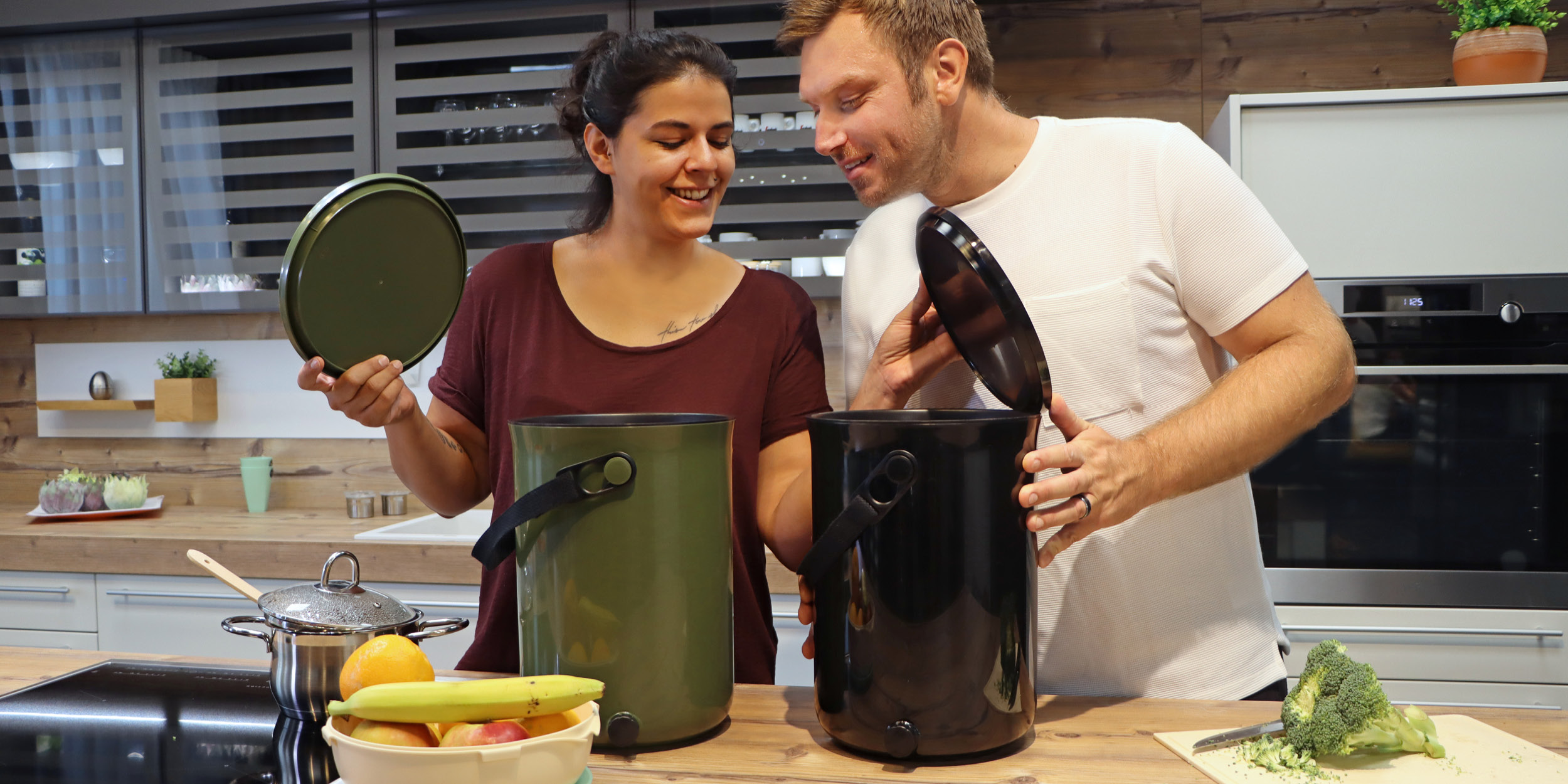 Become a true gardener by having 2 Bokashi Organko composters