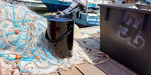 Bokashi Organko 2 Ocean - a first-ever kitchen composter made from recycled fishing nets