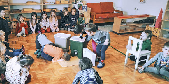 Bokashi Organko is now a new active member of a nursery Montessori Svet Celje