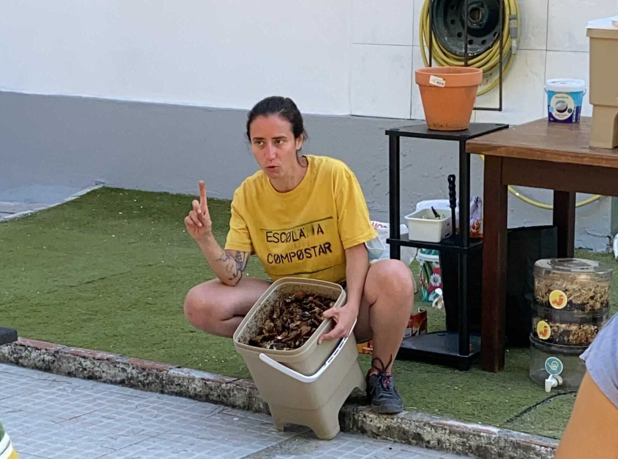 Bokashi Organko was attended the school of composting