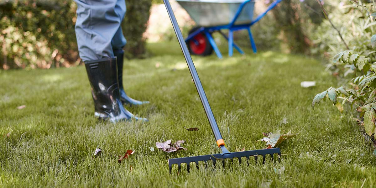 Clean and properly store all your gardening tools and flowerherb pots