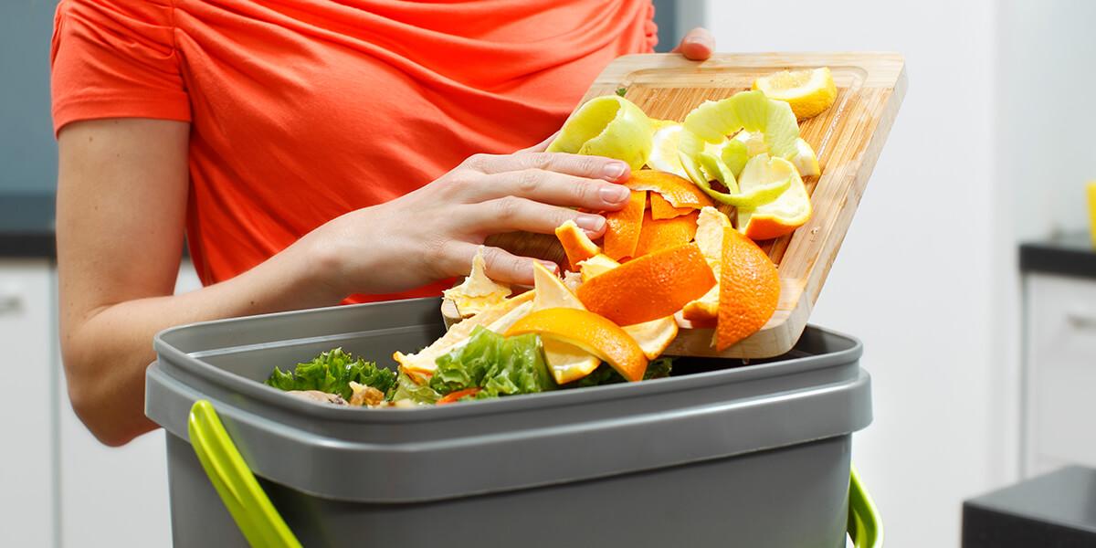 Convert food waste into bokashi compost