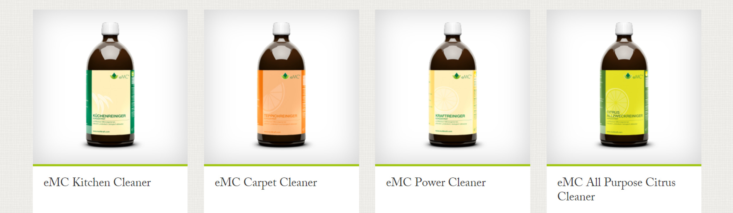 Effective microorganisms products - wide range