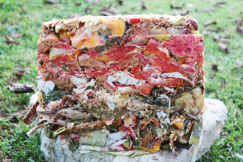 Fermented bio-waste from Bokashi