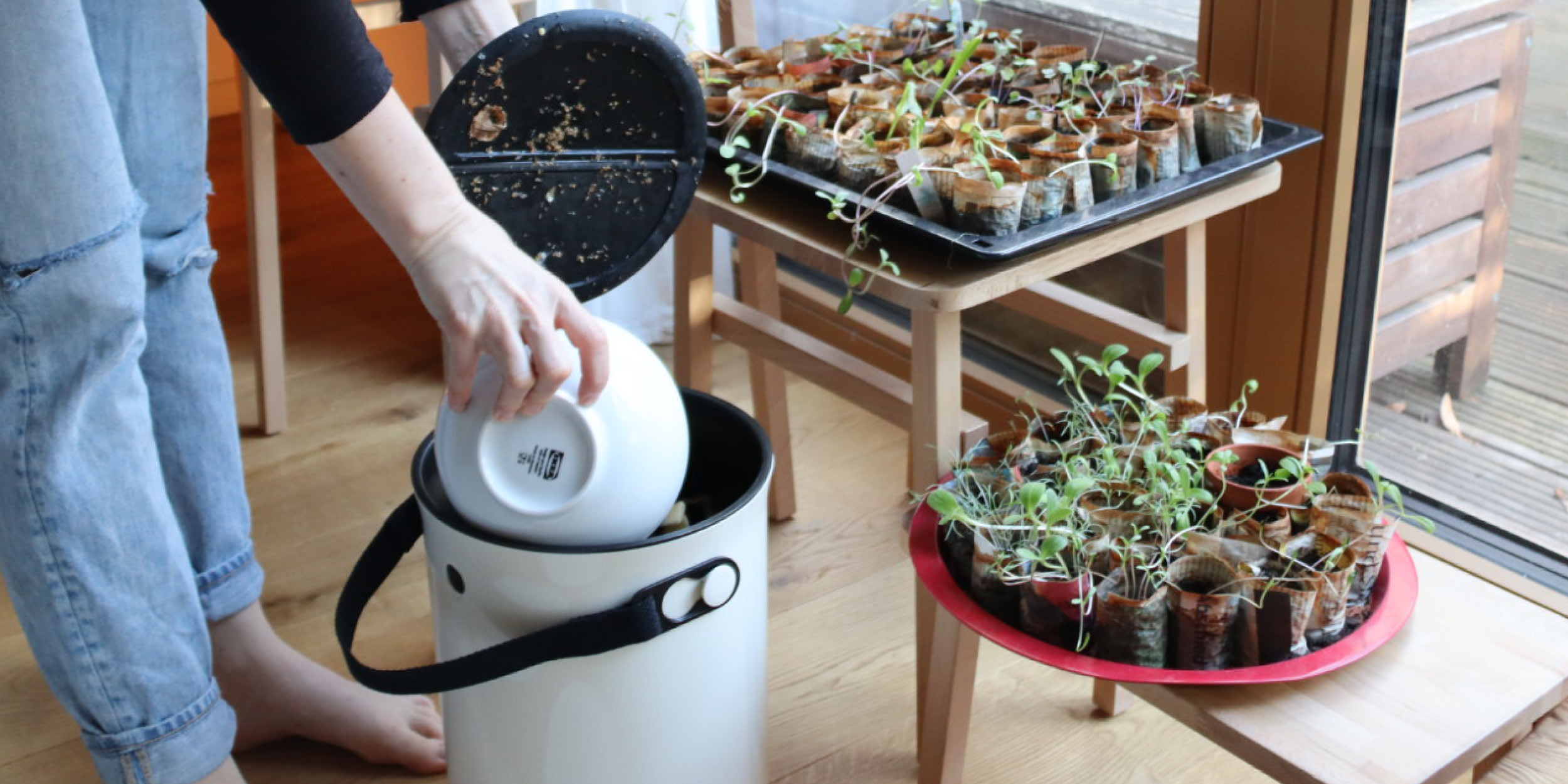 Manage food leftovers in an eco-friendly way