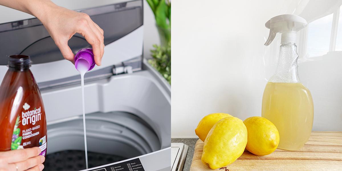 Normal vs sustainable detergent