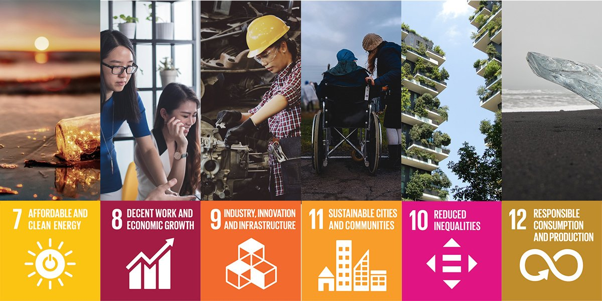 One of the UN sustainable development goals is also responsible production and consumption and sustainable communities