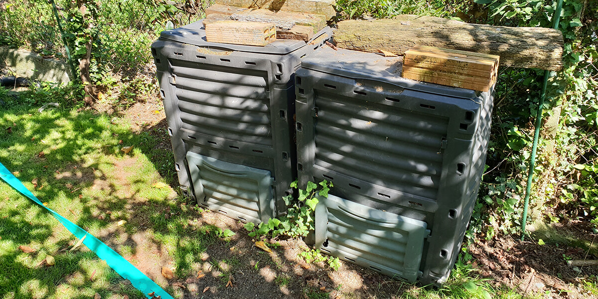 Open-air composting
