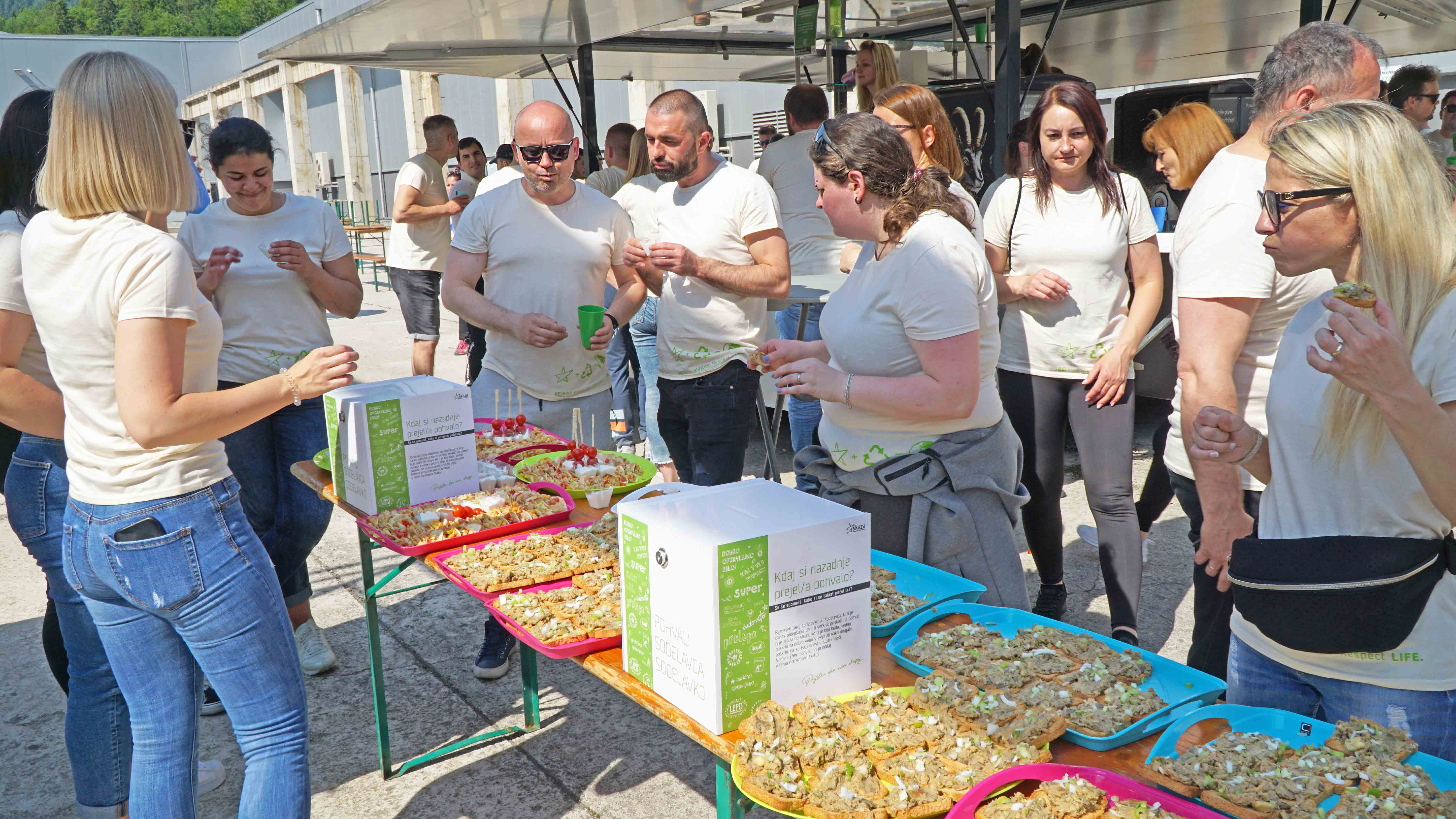Our experienced culinary masters competed for the title of BEST ŠKD LUNCH
