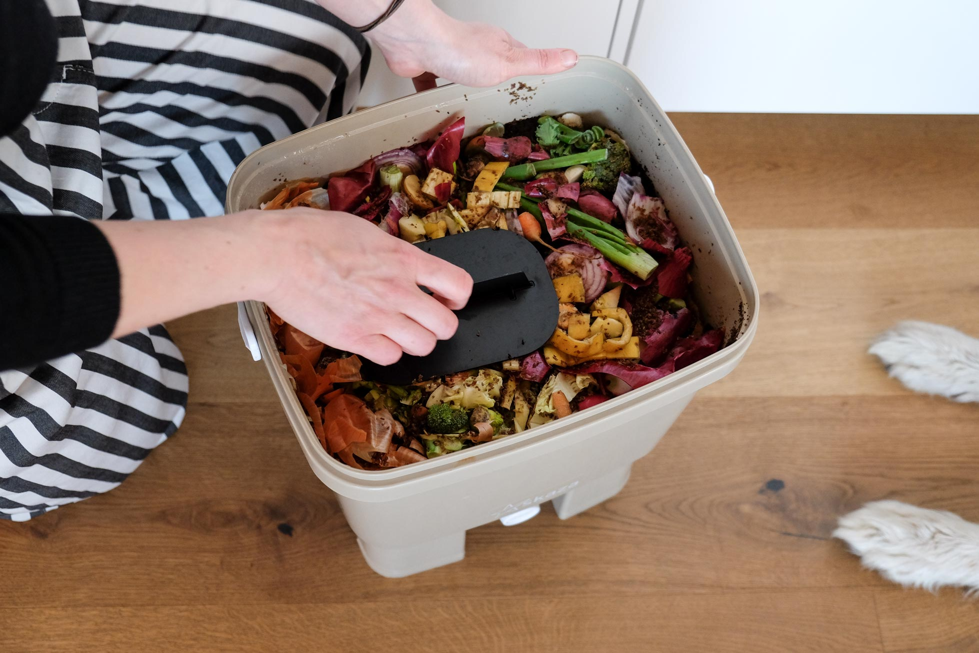 PlaceToBe - report on Bokashi Organko composters 4