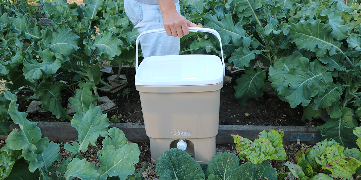 Produce your own fertilizer with Bokashi Organko composters