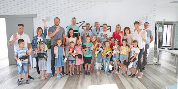 Reception for first-graders