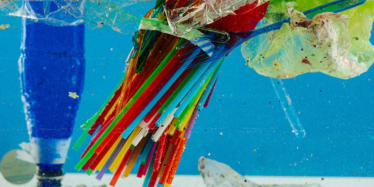 Say no to single-use drinking straws