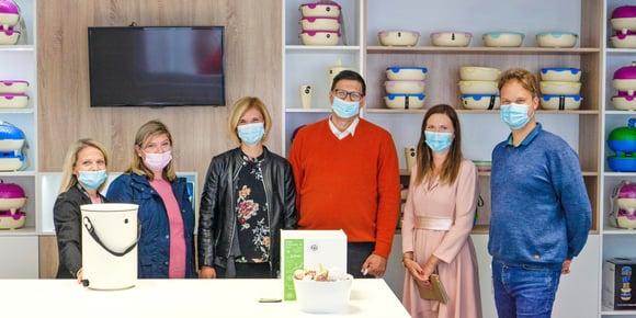 Skaza and Snaga Maribor unite for circular management of bio-waste