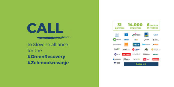 Skaza supports green economy recovery