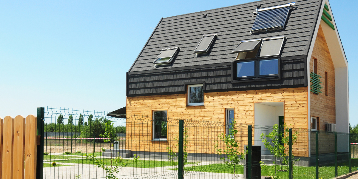 The whole concept of a green home is based on environmental sustainability