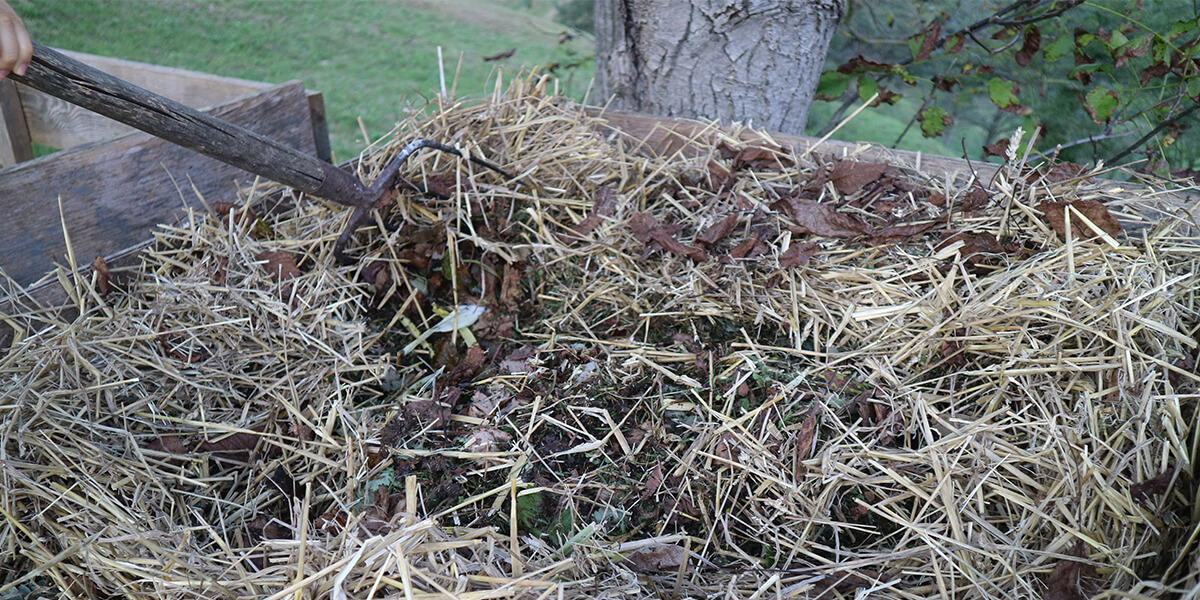 Traditional composting