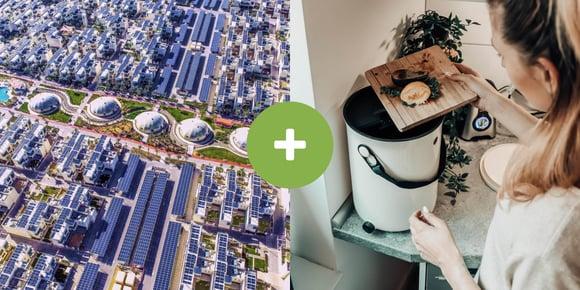 Postali smo del trajnostnega mesta v Dubaju