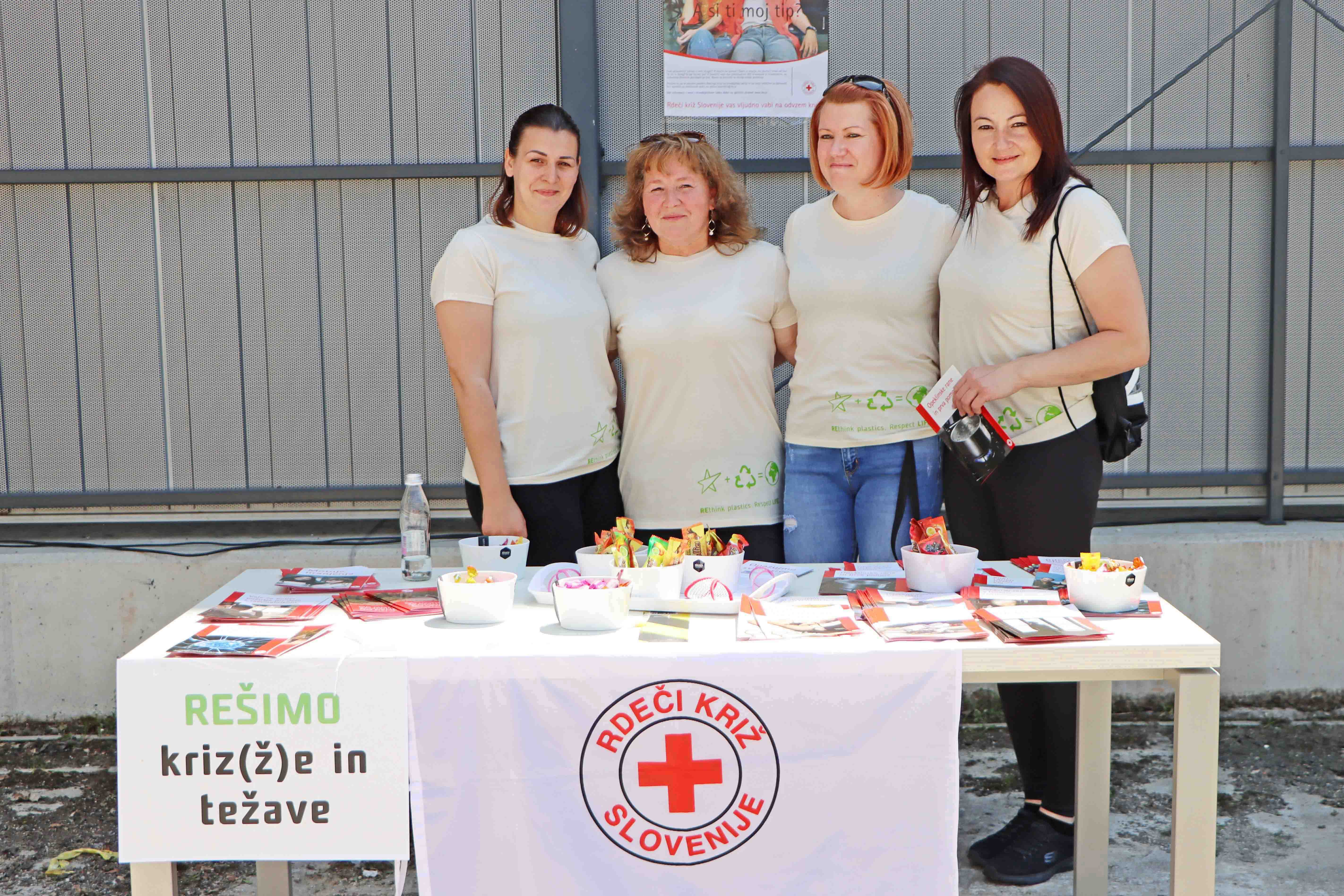 We intoduced our employees to the work of Red Cross
