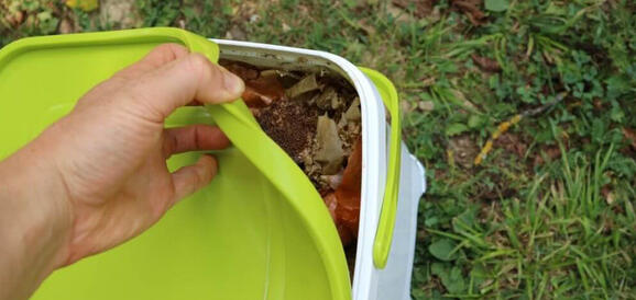 Bokashi fermentation of waste or continuous composting