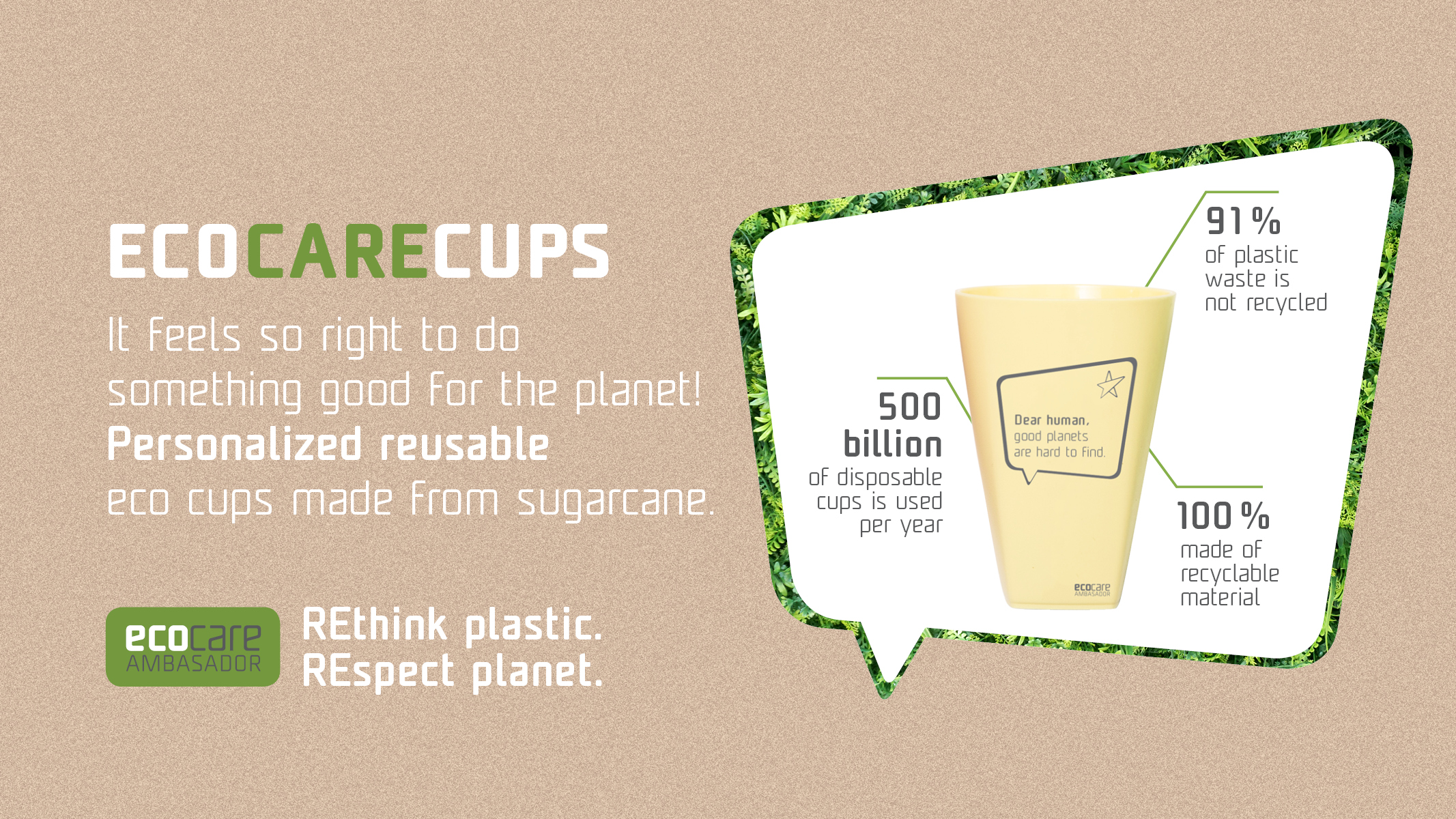 EcoCare cup