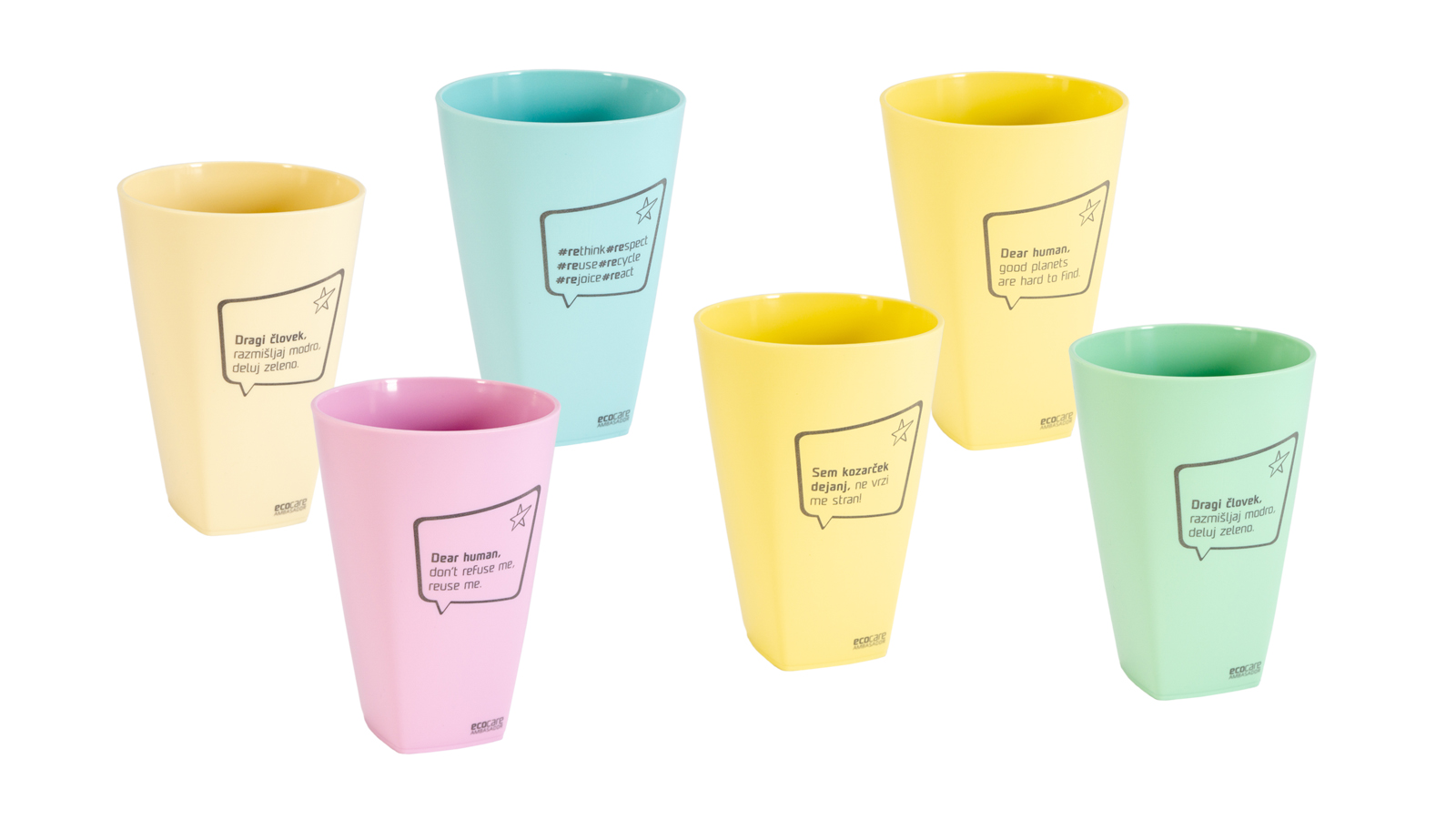 EcoCare cups