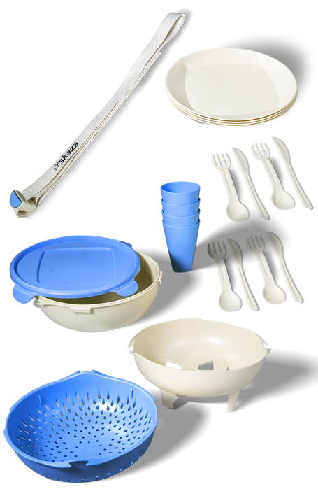 Sustainable plastic tableware from sugarcane