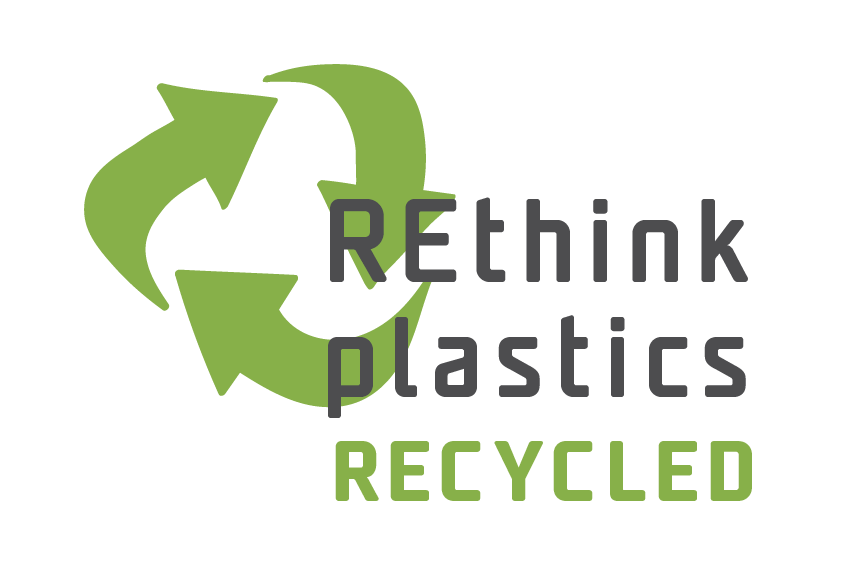 Rethink plastics - recycled